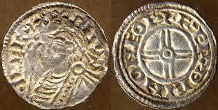 English coin minted by York moneyer Farthein AD 1029-1035