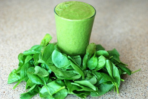 Green, leafy vegetables contain several B vitamins.