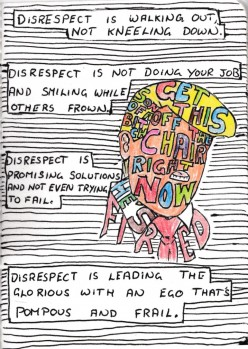 Donald Trump does not know the meaning of Disrespect [A Poem called Disrespecting The..]