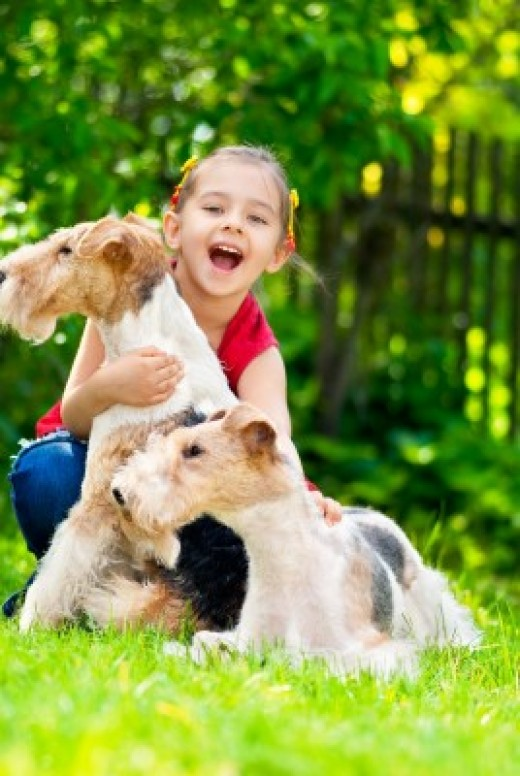 Allow your puppy to meet and play with children!