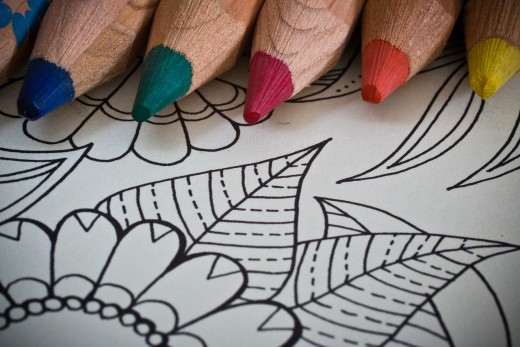 Try coloring to relieve panic attack symptoms.