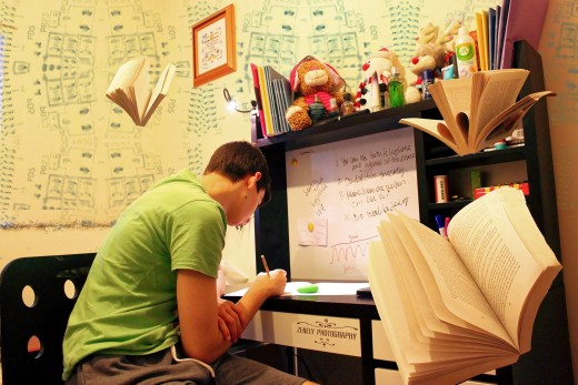 Children schould have their own homework space