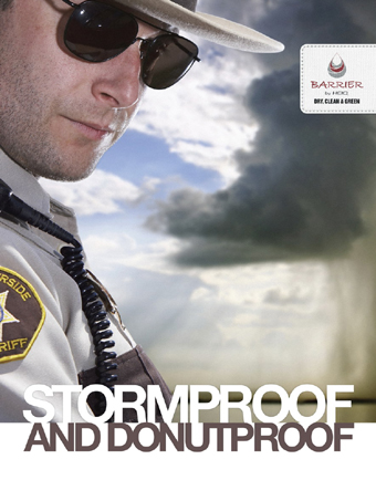 Weather Proof Uniform Picture. Courtesy - www.technicaltextiles.net