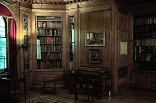 Charles Dickens' Study at the Library of Pensylvania USA