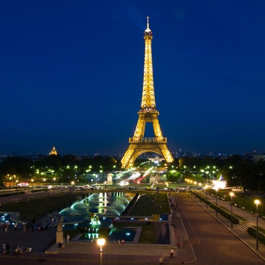 Eurostar: Paris and the Eiffel Tower