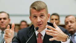 Did Erik Prince during open testimony give away a 'tell' that he's lying?