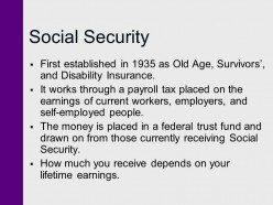 Why is Social Security not a Ponzi scheme? Or is it?