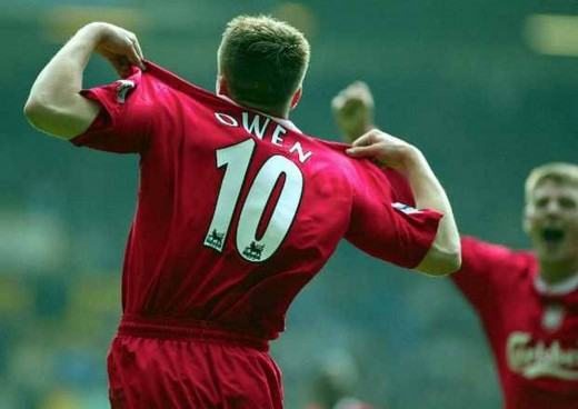 Michael Owen lit up the Premier League, earning a move to Real Madrid