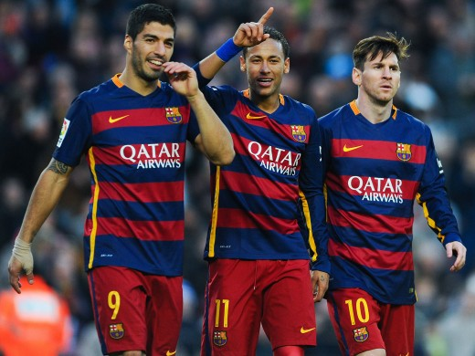 Enrique's team increasingly relied on supplying the front three - at the expense of the midfield
