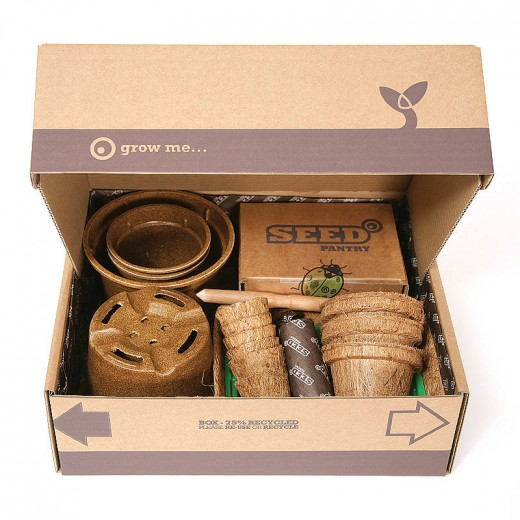 You can find many garden starter gift sets in your local stores or online shops