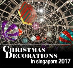 Christmas Decorations in Singapore 2017