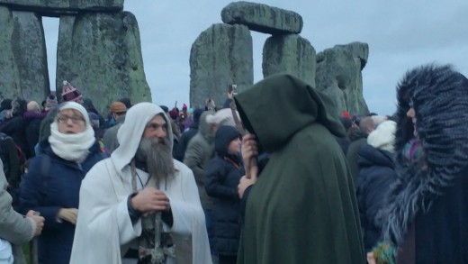 Christmas has its roots in ancient pagan holidays like the winter solstice, still celebrated by druids at stonehenge to this day.
