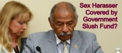 Why does Congress get away with not paying for their sexual harassment settlements?