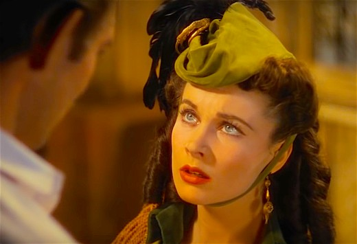 """""""Scarlett O'Hara"""" endured electroshock therapy in a failed attempt to conquer her promiscuity and mental health problems."""