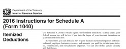IRS Audit! Schedule A Deductions