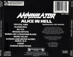 "Review: ""Alice in Hell"" by Canadian Thrash Metal Band Annihilator"