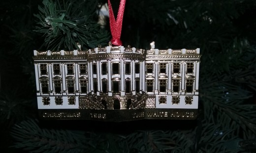 The 1986 White House Ornament