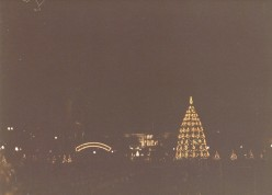 Christmas in Washington, DC in the 80s