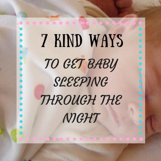 how to keep my baby sleeping through the night