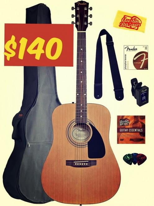 Get Your Fender Squier Bundle Pack Today