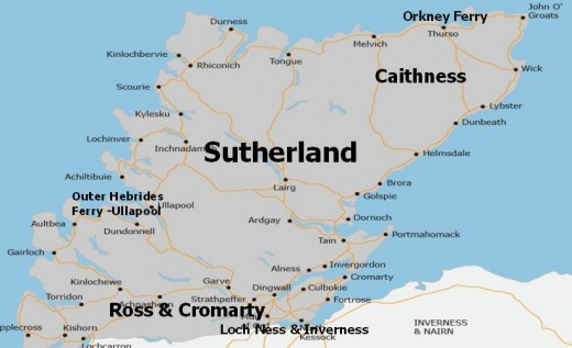 Caithness and Sutherland, mainland centre of Norse settlement on the mainland