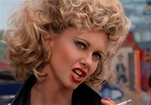Olivia Newton-John in Grease.