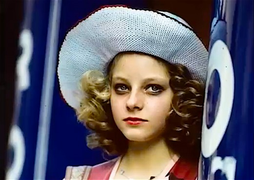 Jodie Foster in Taxi Driver.