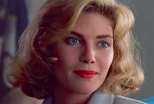 Kelly McGillis in Top Gun.