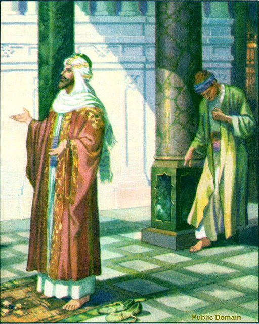 Pharisee and Tax Collector by Otto Semier