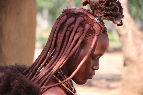 A Himba young woman