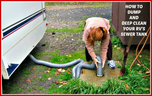 The Best Way to Dump and Deep Clean Your RV's Sewer Tank