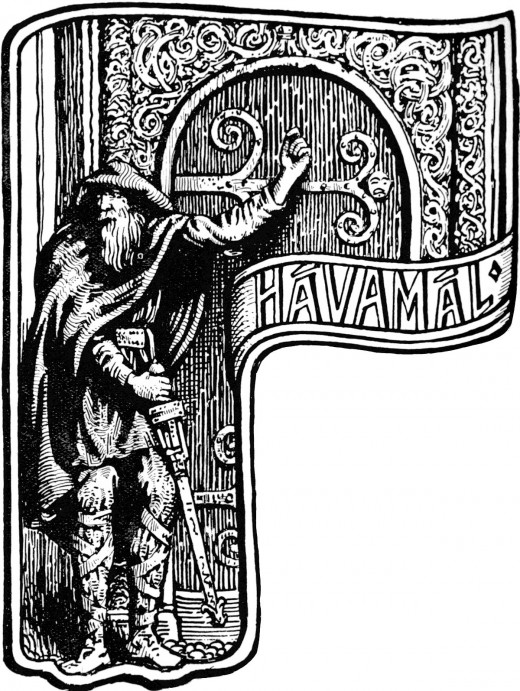 Havamal, a Norse 'How To Behave' manual for the well-heeled