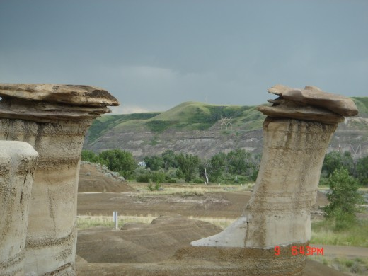 Hoodoos of the Badlands, Drumheller  July, 2008