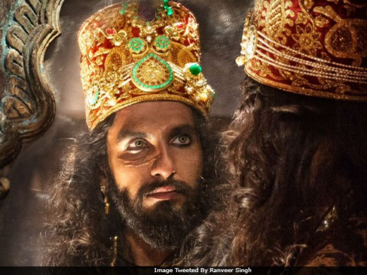 "Allauddin as played by Ranbir Singh in ""padmavati"""