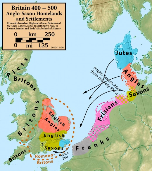 Across the Channel and North Sea approaches waves of Germanic migrants almost queued to reach these shores, with the Angles and Saxons splitting, going their separate ways on making landfall