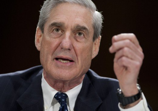 This is Robert Mueller, the lead investigator into the Trump-Putin corporate takeover of the United States.