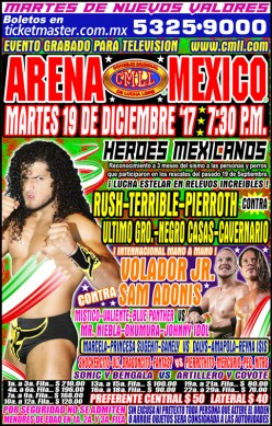 CMLL Tuesday: My Heart Will Go On and Lucha!