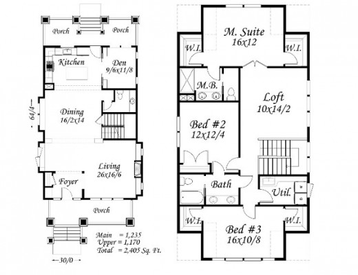 Craftsman house plans, one of today's most popular home designs.