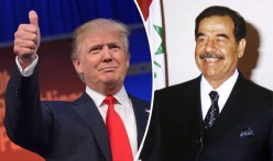 Donald Trump feels Saddam Hussein knew how to tackle Islamic Terrorists