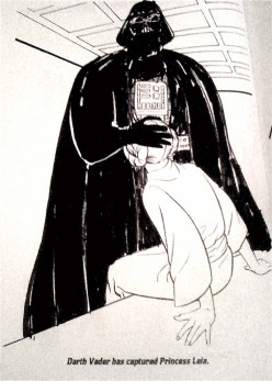 Darth Vader's Dark Powers Failed with Princess Leia