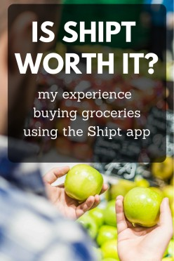 My Review of Buying Groceries Using Shipt