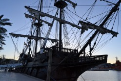 El Galeón - A Replica Ship of Spanish Armada Times.