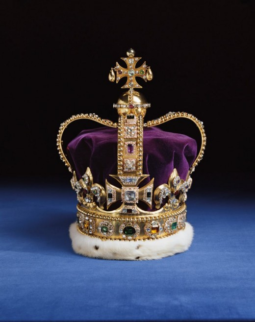 The prize two men died for - the  Crown of King Eadward, later known as St Eadward's Crown