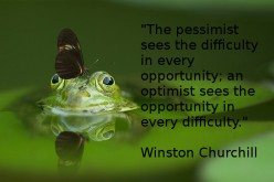 Optimism and Hope Equals a Better Life