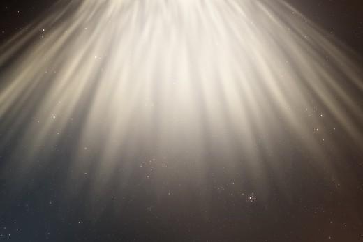The USA shining the light ahead
