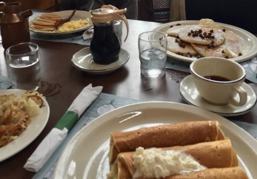 Breakfast at Pancake Pantry