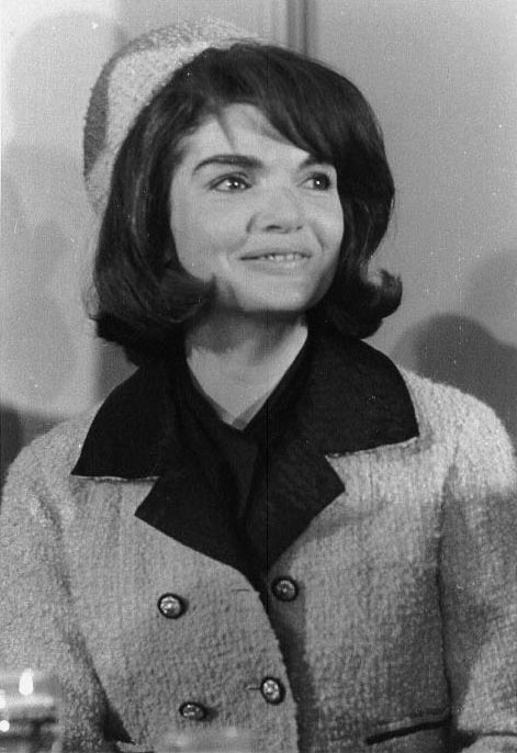 Jacqueline Kennedy in Fort Worth, Texas, on Friday morning, November 22, 1963, the day her husband, President John F. Kennedy, was assassinated.