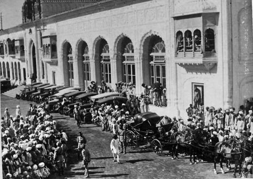 Srinagar in 1947