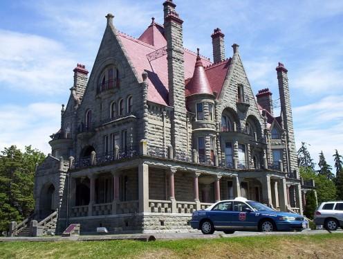 Craigdarroch Castle in Victoria, British Columbia, Canada.
