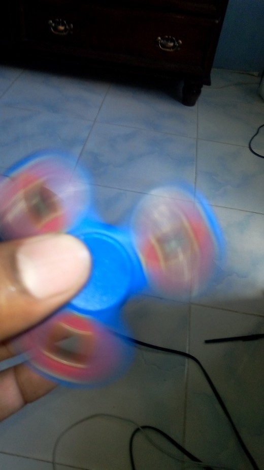 Spinning The Fidget